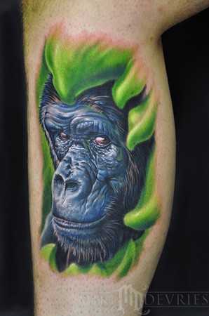 Bush Warriors' Top Ten Wildlife Tattoos of 2010!