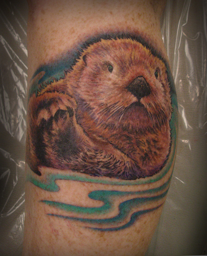 Otters, Tattoos And Body Art