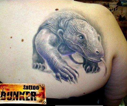 komodo dragon tattoo