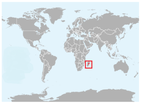 Geographical region of  Aquatic Tenrec